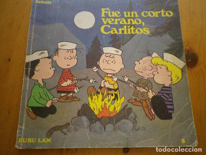 COMIC CARLITOS FUEN UN CORTO VERANO, CARLITOS (Tebeos y Comics - Buru-Lan - Otros)