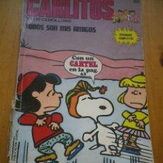 Cómics: COMIC CARLITOS Y LOS CEBOLLITAS TODOS SON AMIGOS. Lote 97500951