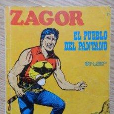 Cómics: ZAGOR Nº 7 EL PUEBLO DEL PANTANO AÑO 1971 BURU LAN EDICIONES NOVELA GRAFICA PARA ADULTOS . Lote 97505831