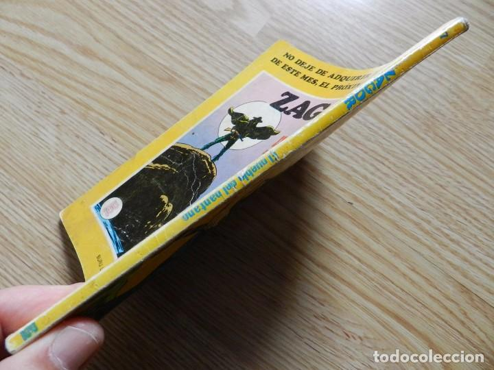Cómics: ZAGOR Nº 7 EL PUEBLO DEL PANTANO año 1971 BURU LAN ediciones novela grafica para adultos - Foto 2 - 97505831