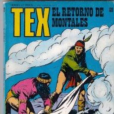 Cómics: TEX. Nº 69. EL RETORNO DE MONTALES. Lote 97552735