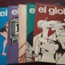 Cómics: REVISTA EL GLOBO. NUMEROS 3, 4, 9, 11, 17. Lote 97692504