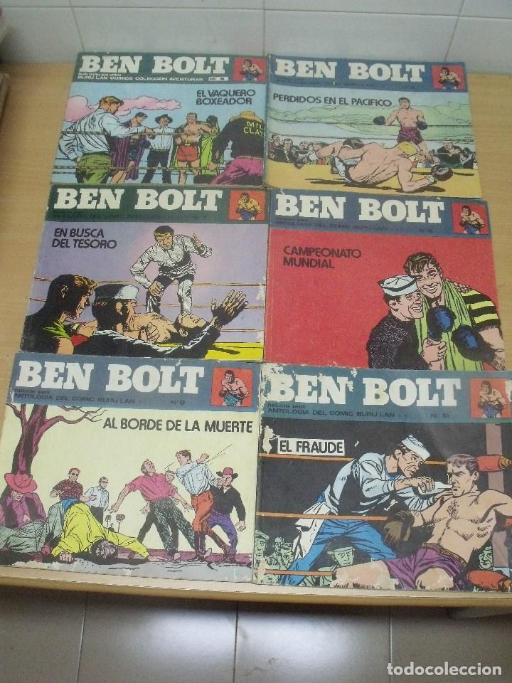 BEN BOLT APAISADOS ED. BURU LAN NUMEROS 5-6-7-8-9-10 (Tebeos y Comics - Buru-Lan - Otros)