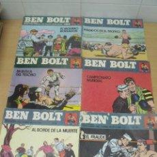 Cómics: BEN BOLT APAISADOS ED. BURU LAN NUMEROS 5-6-7-8-9-10. Lote 98040195