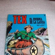 Cómics: TEX 33 - EL ENIGMA DE LA LANZA. Lote 98071987