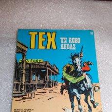 Cómics: TEX 34 - UN ROBO AUDAZ. Lote 98072251