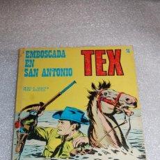 Cómics: TEX 36 - EMBOSCADA EN SAN ANTONIO. Lote 98072895