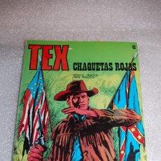 Cómics: TEX 42 - CHAQUETAS ROJAS. Lote 98074111