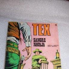 Cómics: TEX 44 - SANGRE NAVAJA. Lote 98074759