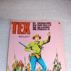 Cómics: TEX 48 - EL ESPIRITU DE MANITU. Lote 98075555