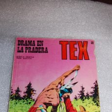 Cómics: TEX 50 - DRAMA EN LA PRADERA. Lote 98076067