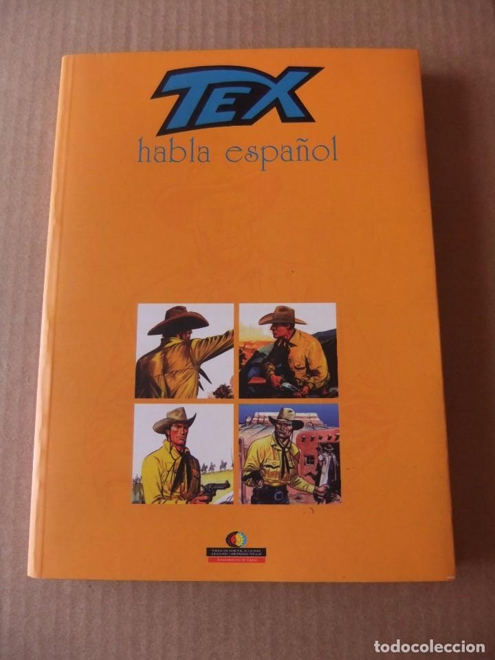 TEX HABLA ESPAÑOL EXPOSICION CATALOGO TEX HABLA ESPAÑOL DEL 5 AL 14 DE JULIO 2002 AYNT GIJON (Tebeos y Comics - Buru-Lan - Tex)