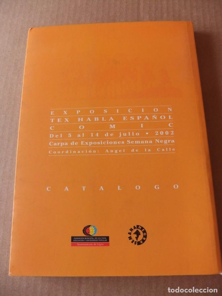 Cómics: TEX HABLA ESPAÑOL EXPOSICION CATALOGO TEX HABLA ESPAÑOL DEL 5 AL 14 DE JULIO 2002 AYNT GIJON - Foto 2 - 98192603