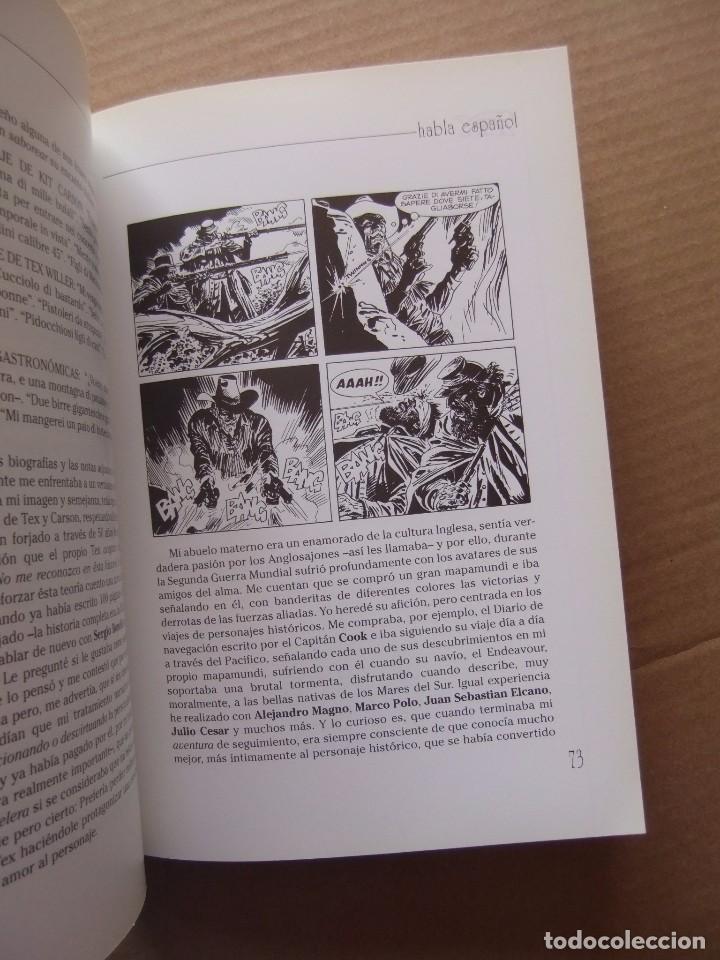 Cómics: TEX HABLA ESPAÑOL EXPOSICION CATALOGO TEX HABLA ESPAÑOL DEL 5 AL 14 DE JULIO 2002 AYNT GIJON - Foto 6 - 98192603