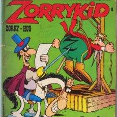 Cómics: JACOVITTI. ZORRYKID Nº 1. HÉROES DE PAPEL. BURU LAN 1973. Lote 98226495