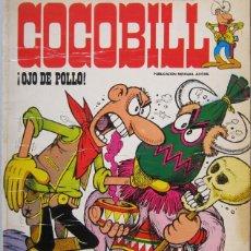 Cómics: JACOVITTI. COCOBILL Nº 4. HÉROES DE PAPEL. BURU LAN 1973. Lote 98331703