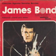Cómics: JAMES BOND. BURULAN 1974. COMPLETA 30 EJEMPLARES. DIFICIL..... Lote 98543027