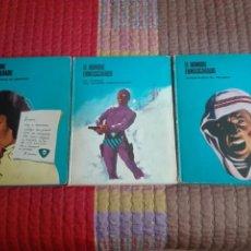 Cómics: LOTE 3 TOMOS EL HOMBRE ENMASCARADO DE BURU LAN. 1972.. Lote 98561282