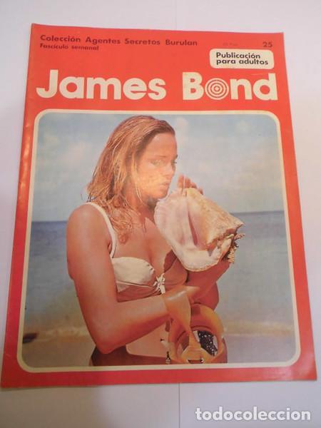 JAMES BOND NUM 25 - BURU LAN- 1974 (Tebeos y Comics - Buru-Lan - James Bond)