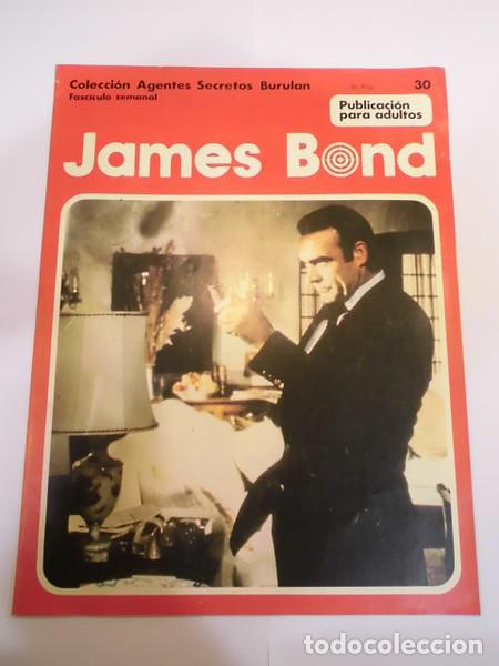 JAMES BOND NUM 30 - BURU LAN- (Tebeos y Comics - Buru-Lan - James Bond)