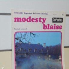 Cómics: COLECCION AGENTES SECRETOS MODESTY BLAISE Nº 12 - BURU LAN -. Lote 98877627