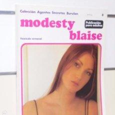 Cómics: COLECCION AGENTES SECRETOS MODESTY BLAISE Nº 8 - BURU LAN -. Lote 98877767