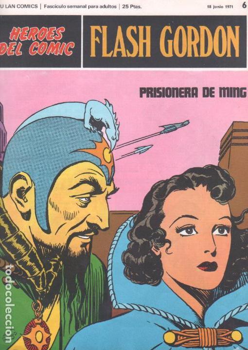 FLASH GORDON Nº 6 BURULAN (Tebeos y Comics - Buru-Lan - Flash Gordon)