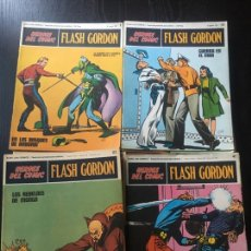 Cómics: HEROES DEL COMIC FLASH GORDON ED BURU LAN LOTE 56 FASCICULOS ANOS 70. Lote 99380892