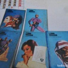Cómics: EL HOMBRE ENMASCARADO TOMO NºS 1 2 3 4 5. BURULAN AÑOS 70. PORTES GRATIS.. Lote 99435743