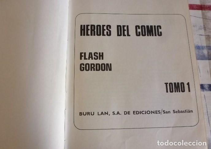 Cómics: COMIC-TOMO FLASH GORDON Nº 1 EDITORIAL BURU LAN 1971. - Foto 2 - 99704183