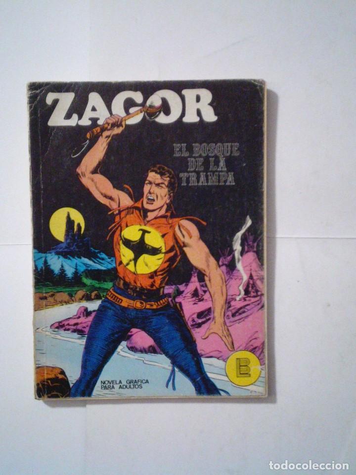 ZAGOR - BURU LAN - NUMERO 1 - EL BOSQUE DE LA TRAMPA - B E - CJ 42 - GORBAUD (Tebeos y Comics - Buru-Lan - Zagor)