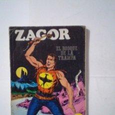 Cómics: ZAGOR - BURU LAN - NUMERO 1 - EL BOSQUE DE LA TRAMPA - B E - CJ 42 - GORBAUD. Lote 99811995