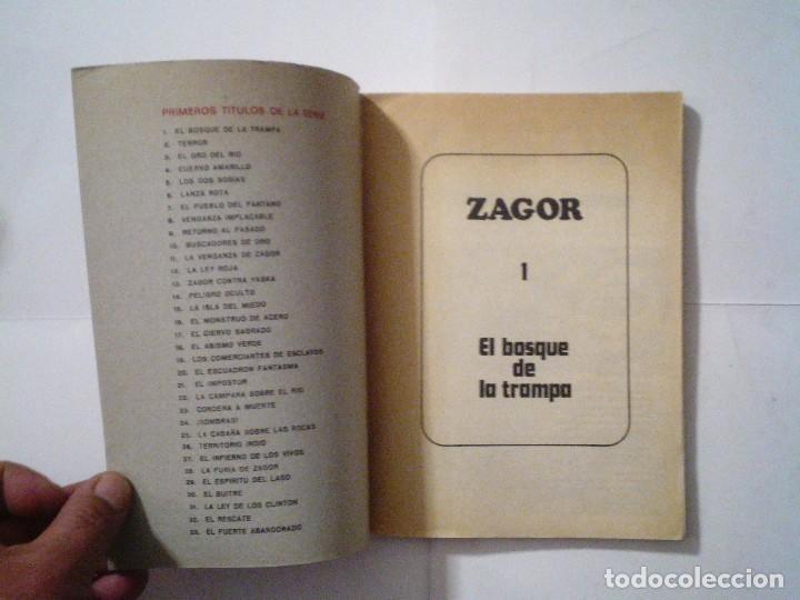 Cómics: ZAGOR - BURU LAN - NUMERO 1 - EL BOSQUE DE LA TRAMPA - B E - CJ 42 - GORBAUD - Foto 2 - 99811995