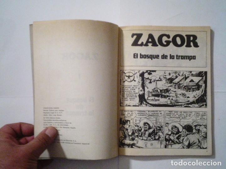 Cómics: ZAGOR - BURU LAN - NUMERO 1 - EL BOSQUE DE LA TRAMPA - B E - CJ 42 - GORBAUD - Foto 3 - 99811995