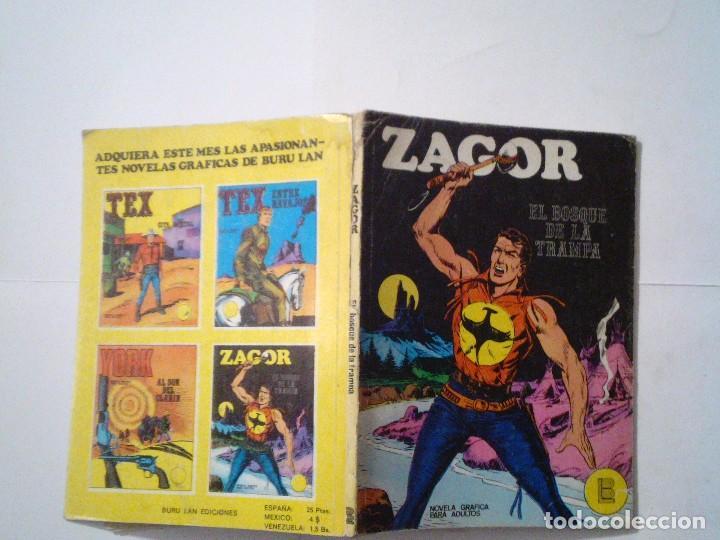 Cómics: ZAGOR - BURU LAN - NUMERO 1 - EL BOSQUE DE LA TRAMPA - B E - CJ 42 - GORBAUD - Foto 5 - 99811995