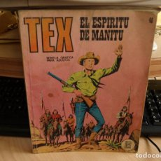 Cómics: TEX - NÚMERO 48 - EL ESPIRITU DE MANITU - FORMATO TACO - BURULAN. Lote 99971099