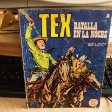 Cómics: TEX - NÚMERO 38 - BATALLA EN LA NOCHE - FORMATO TACO - BURULAN. Lote 99971895