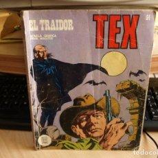 Cómics: TEX - NÚMERO 54 - EL TRAIDOR - FORMATO TACO - BURULAN. Lote 99972015
