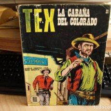Cómics: TEX - NÚMERO 31 - LA CABAÑA DEL COLORADO - FORMATO TACO - BURULAN. Lote 99973027