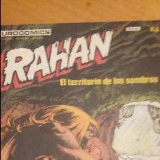 Cómics: RAHAN Nº 24 EN BUEN ESTADO. Lote 100023687