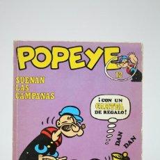 Cómics: CÓMIC POPEYE / SUENAN LAS CAMPANAS - Nº 12 - EDITORIAL BURU LAN - AÑO 1971. Lote 100147279