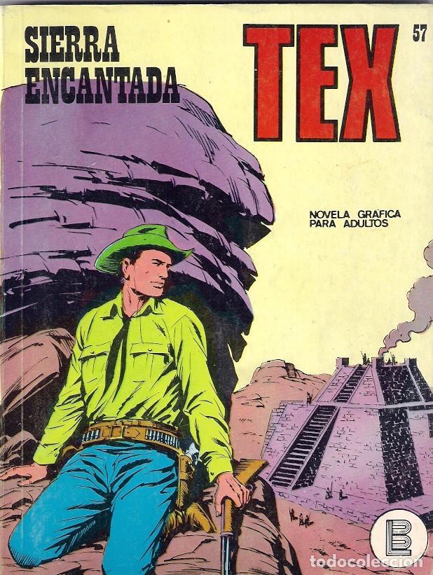 TEX. Nº 57. SIERRA ENCANTADA (Tebeos y Comics - Buru-Lan - Tex)