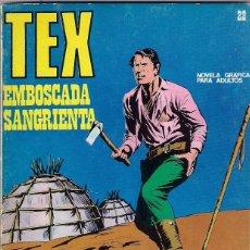 Cómics: TEX. Nº 22. EMBOSCADA SANGRIENTA. Lote 100279151