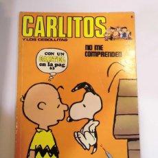 Cómics: CARLITOS - NUM 11 - ED. BURU LAN- 1972. Lote 100486112