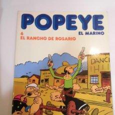 Cómics: POPEYE EL MARINO NUM 6 - EL RANCHO DE ROSARIO - ED. BURU LAN- 1983. Lote 100486263