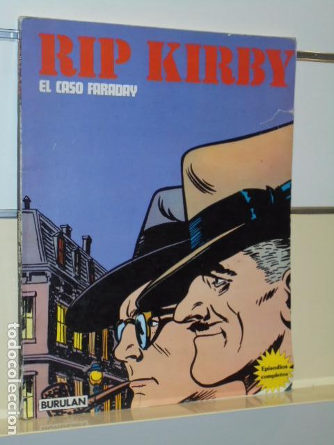 TOMO RIP KIRBY EL CASO FARADAY - BURU LAN - (Tebeos y Comics - Buru-Lan - Rip Kirby)