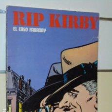 Cómics: TOMO RIP KIRBY EL CASO FARADAY - BURU LAN -. Lote 101016567