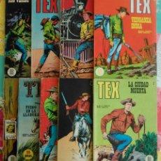 Cómics: TEX Nº 5, 13, 14, 17, 20, 25, 30, 49 Y 51 (BURU LAN 1971/72) 9 NOVELAS.. Lote 57218092