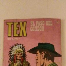 Cómics: TEX - Nº 65 - EL PASO DEL CONDOR - BURULAN. Lote 101936523