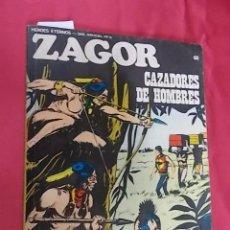 Cómics: ZAGOR. Nº 60. CAZADORES DE HOMBRES. BURU LAN. Lote 101944559